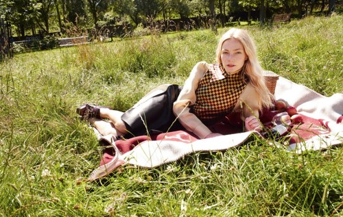 dontletmedownlondon:  Clara Paget, a few short videos, i shots for O by Tank, SEE LINK BELOW. http://becauselondon.com/fashion/2012/09/must-shop.aspx  (photograph- Andrew Woffinden, at Scrubs Lane, Skirt: Calvin Klein, Blouse, Waiscoat, Shoes: Miu Miu, Rug: Hermes) With a writer as her mother and a painter for her father (who also happens to be the Earl of Uxbridge), it seems that London-born model and actress Clara Paget was always destined for It-girl-dom. She began her modelling career after she was spotted dressed as Marlene Dietrich at a costume party and, with her glacial blonde locks and fine, pixie-like features, she soon became a favourite on the London fashion scene. Now, with appearances in St Trinians 2 and Johnny English Reborn already under her belt, Lady Clara is set to appear in The Fast and the Furious 6. Here, we've asked her to do her thing in this season's must-haves…