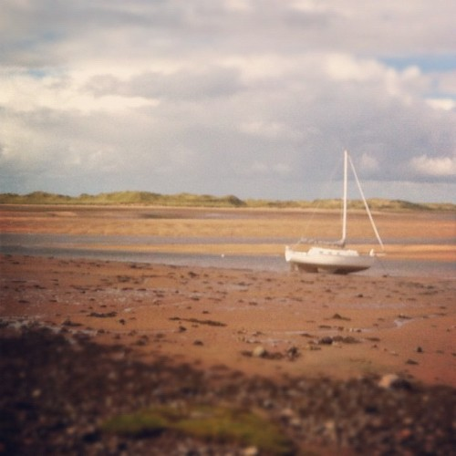 Taken with Instagram at Ravenglass Estuary