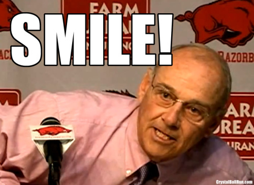 John L. Smith wants you to SMILE! (via Morning Playbook - MACtion packed Wednesday!)