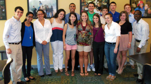 Congratulations to our honorees at our recent Academic Reception! These students achieved a cumulative GPA of 3.5 or higher at the end of the Spring 2012 semester.  Keep up the great work!