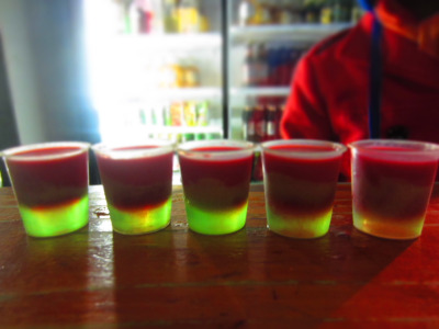 21 Taking On 30 Days of South Africa Day 12: too many Bob Marley shots!@ Coffee Shack