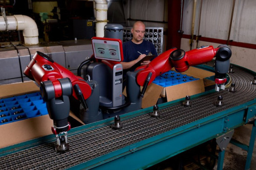 Adaptable 'Baxter' robot could help businesses compete with cheap foreign labor