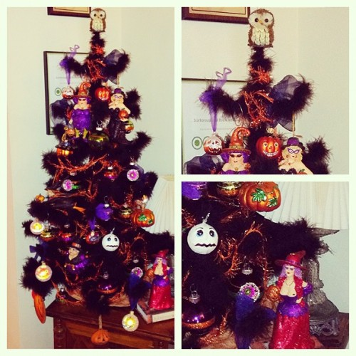 The Halloween tree is complete. (Taken with Instagram at Scarborough Fair Bed & Breakfast)