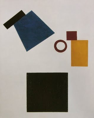 Kazimir Malevich. Suprematism (Self Portrait in Two Dimensions), 1915
