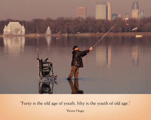 (via Victor Hugo fishing old age great quotes | Fishing Blog & News)