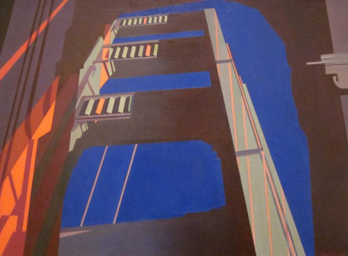 "architectural-review:  ""Golden Gate"" - Charles Sheeler 1955  One of my all time greats. Love his work."