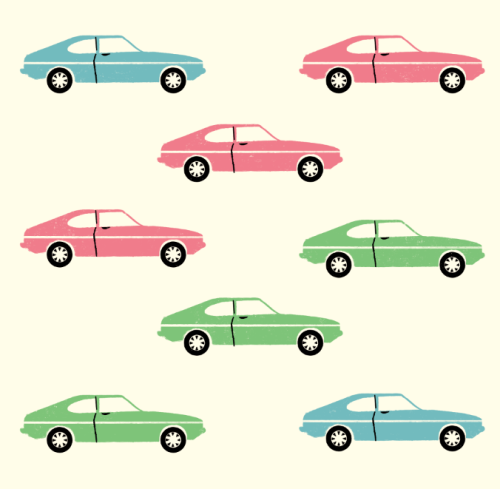 ford capri pattern