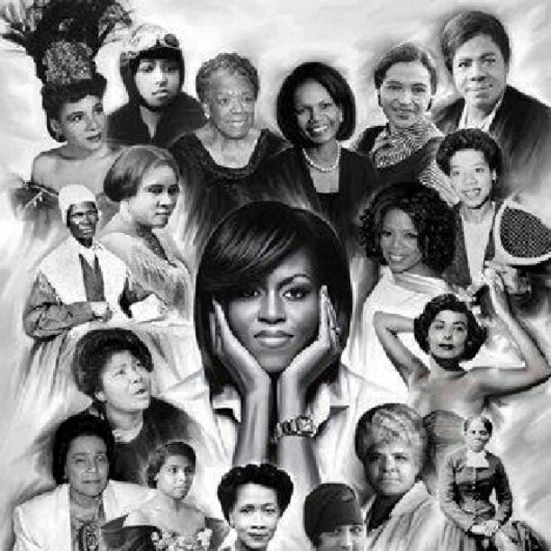 Strong #AfricanAmerican women …. Is there anything greater? #history  (Taken with Instagram)