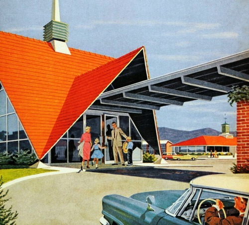 1950sunlimited:  Howard Johnsons, 1950s