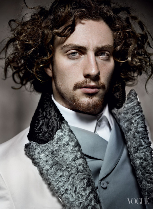 Aaron Johnson by Mario Testino