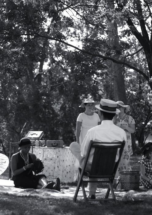 A Gatsby Afternoon in Forrest Hill Park.