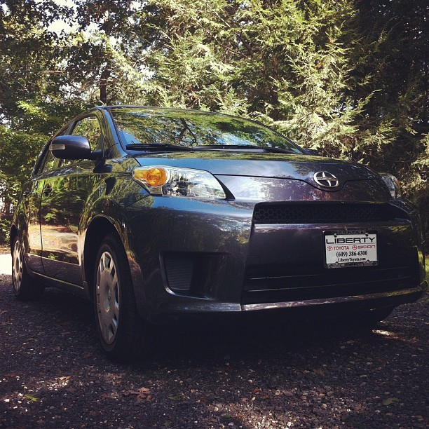 my new #bexy @scion on the #bexlifefarm … I'm in LOVE!!!  (Taken with Instagram)