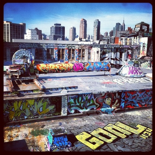 Five Pointz. #graffiti #queens (Taken with Instagram at 5 Pointz)