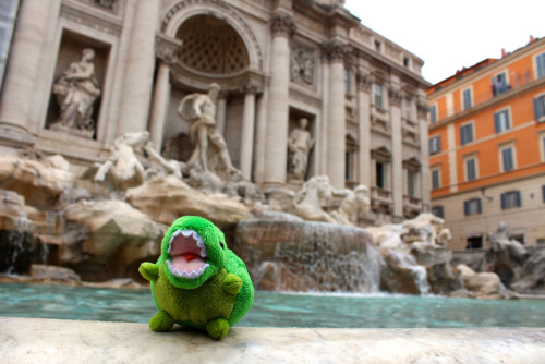 KEY-REX YOU CAN'T SWIM IN THE FONTANA DI TREVI