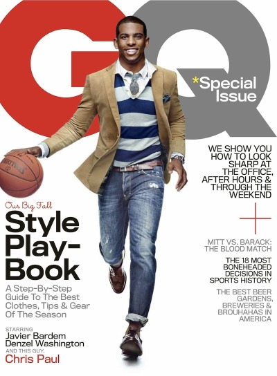 L.A. Clippers star Chris Paul for GQ [Oct 2012]