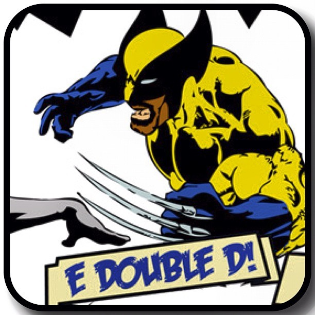 "Name: Wolverine (E Double D)Powers: Ability to regenerate damaged or destroy any club of his cellular structure at a rate far greater than that of an ordinary DJ.Personality: Grumpy as fuck (Just don't ask him to play ""Candy"" by Cameo.See him at A Few Good Men's Hip Hop Supa Hero vs Supa Villain Fancy Dress Party Oct 27th at Hare & Hounds"