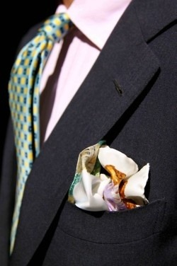 Rubinacci pocket square