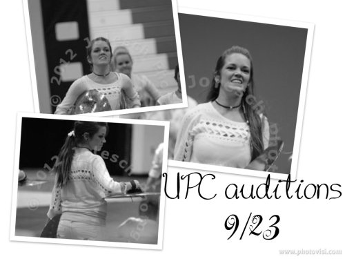 Hyping Leah Spencer today. 4 days until UPC auditions for the 2013 season.