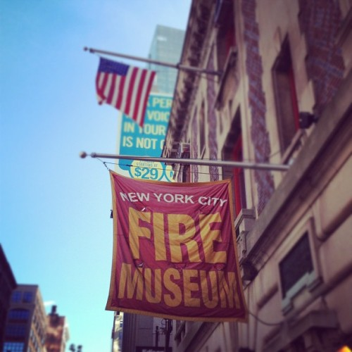 ❤❤ #newyork #fireman #firemuseum (Taken with Instagram at New York City Fire Museum)