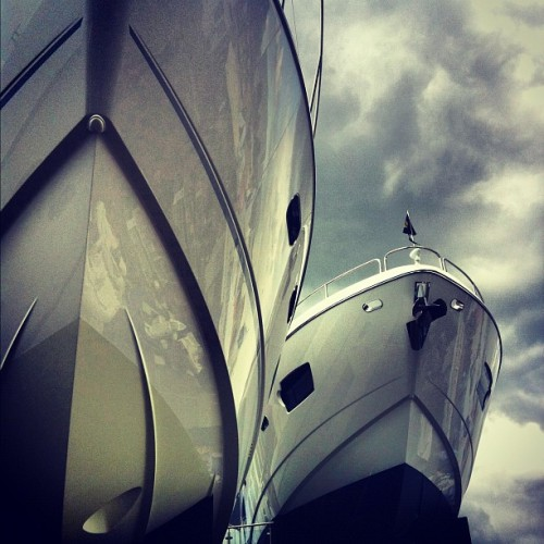 ohluce:  Huuuge. #boat #sunseeker (Taken with Instagram at Psp Southampton Boatshow)
