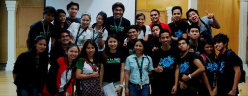Algebra Quiz Contest Committee feat. our gorgeous professors! *Guess! Haha =)  This is an accomplishment for our beloved organization. The number of students who participated was superb! It was really beyond our expectations and though madaming stress, we managed to get through it. So the results? A very successful day for all of us. =))