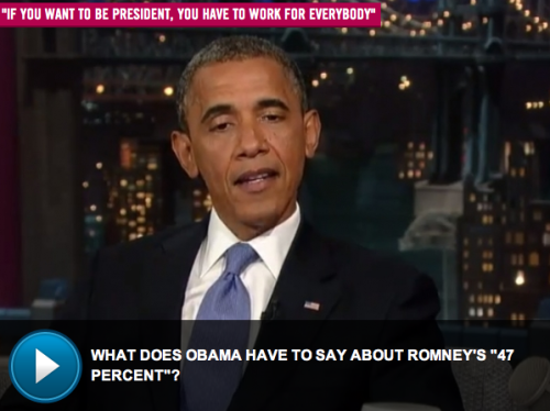 VIDEO: President Barack Obama on The Late Show with David Letterman