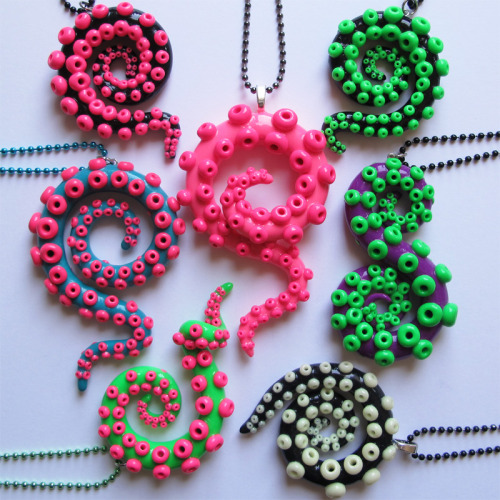 walkingsquid:  Custom necklace orders are up on Etsy! http://www.etsy.com/shop/WalkingSquid