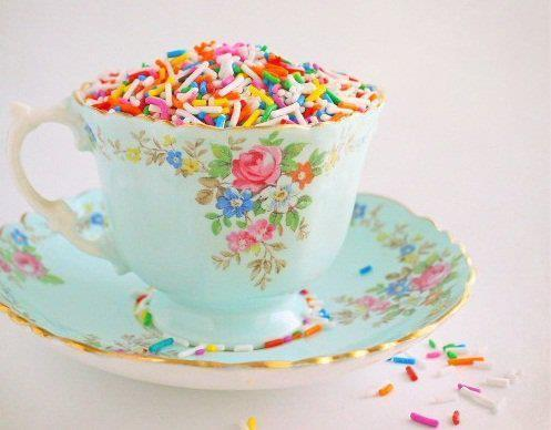 Would you like some tea with your sprinkles?