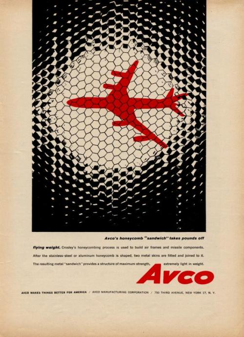 Avco advertisement Source: Brain Pickings