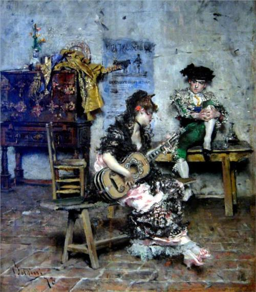 Giovanni Boldini, A Guitar Player, 1873.