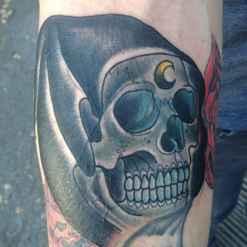 Cover up reaper….💀 (Taken with Instagram)
