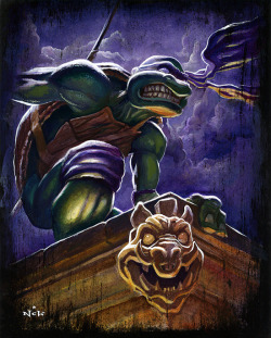 Donatello Print by N.C. Winters