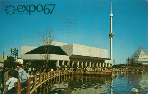 Expo 67 The Garden of Stars