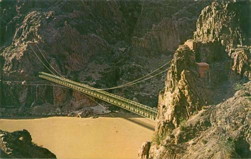 Bridge over the Colorado River Grand Canyon