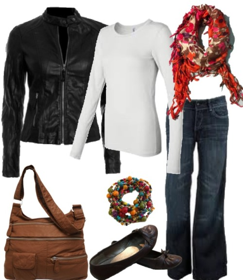 #FallFashion - In a world of leggings & skinny jeans, wide leg jeans are a breath of fresh fall air.