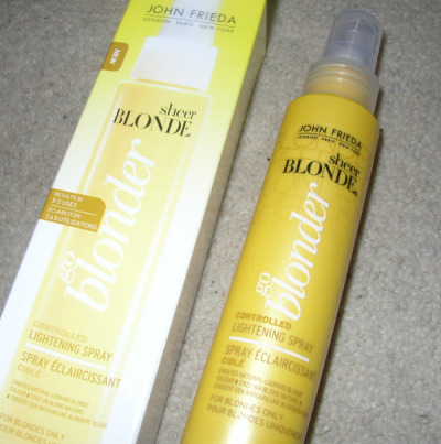 John Frieda go blonder: product review!
