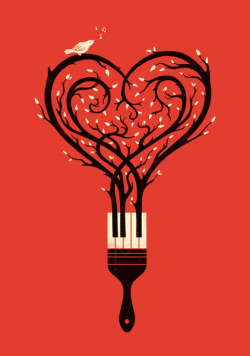 Paint Your Love Song by Enkel Dika