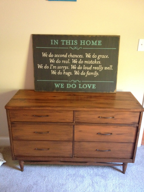 Sign For Sale! $100 Dresser For Sale! $125