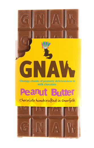 helloyoucreatives:  Gnaw is a range of chocolate handmade in Gnawfolk (Norfolk), England. It has a fun brand identity, designed by Sold Block Design, and a range of exciting flavours including Banoffee Pie, Rocky Road and Peanut Butter.