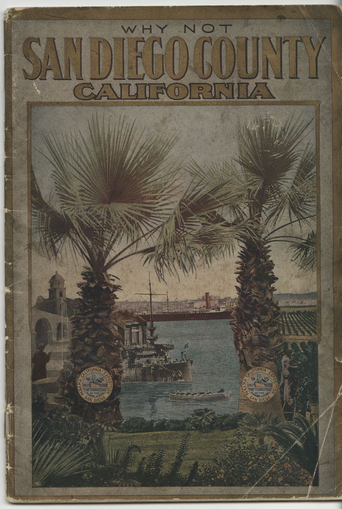 Why not San Diego County, California, 1911
