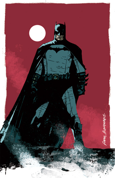 fuckyeahbatman:  (via Batman by *rafaelalbuquerqueart on deviantART) Great piece.