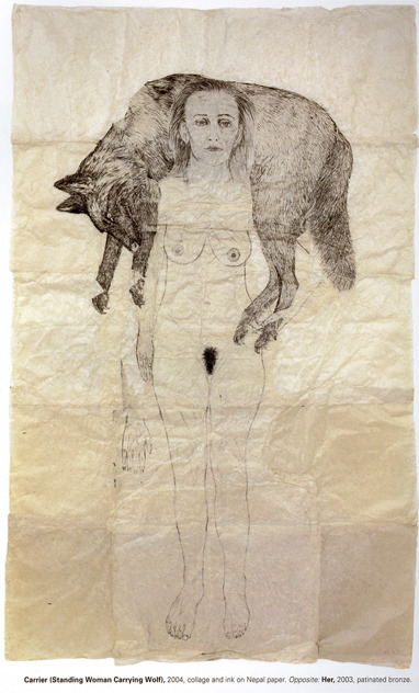 alucinaconplanear:  kiki smith