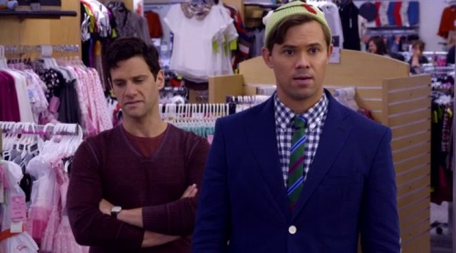 Was it just us, or did last night's The New Normal really start showing its Ryan Murphy? We are
