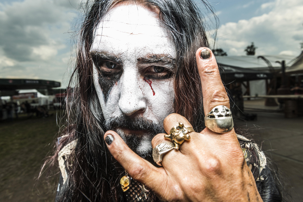 Wacken Open Air heavy metal music fest on August 3. (Patrick Lux/Getty Images)