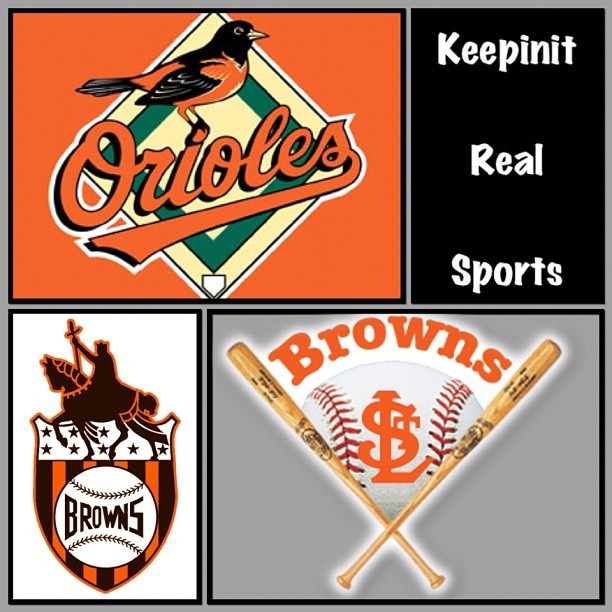 This Day In Baseball History: September 16,1953 - The St. Louis Browns of the American League were given permission to move to Baltimore, MD, where they became the Baltimore Orioles.   myspace.com/keepinitrealsports  theofficialkeepinitrealsports.blogspot.com  keepinitrealsports.tumblr.com  pinterest.com/mysterkeepinit  Instagram - @Myster_Keepinit  Twitter - @MysterKeepinit  keepinitrealsports.wordpress.com  flickr.com/keepinit_real_sports  #keepinitrealsports #History #StLouis #Browns #Baltimore #Orioles #MLB #Baseball #Sports #MysterKeepinit  (Taken with Instagram)