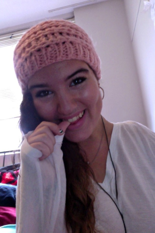 guys, it's beanie weather finally