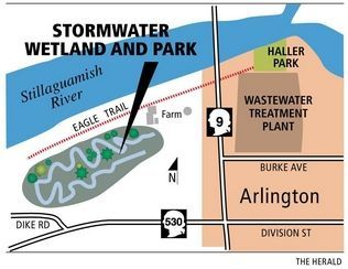 Old farm in Arlington has new job: cleaning stormwater