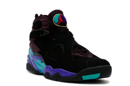 "Air Jordan VIII - Aqua very excited to see that the Aqua VIIIs will be retroing next year.  definitely gonna be seeing lots of heat coming for 2013 with these and the Grape Vs. click here for more pics, and stay tuned for release info Related articles Air Jordan V ""Corona"" Customs by Revive (sneakernews.com)"