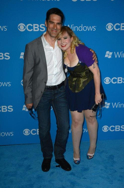‏@Vangsness: I also love him. And yes, dreamier in person. @Gibsonthomas