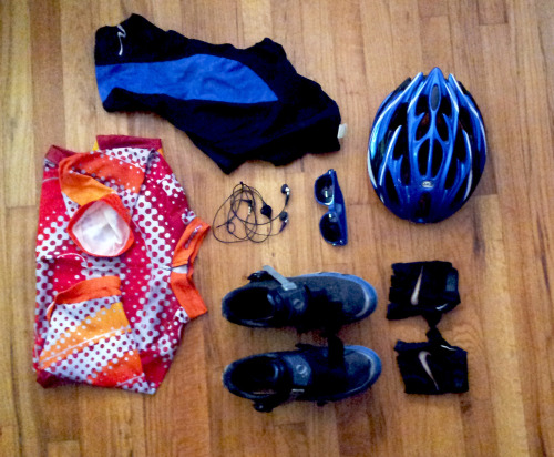 my typical biking kit